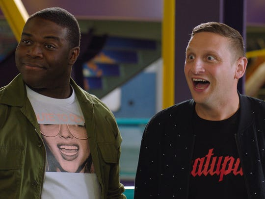 (From left) Sam Richardson and Tim Robinson in a scene