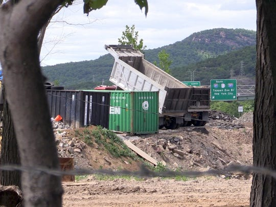 Rockland County is alleging that dirt is illegally
