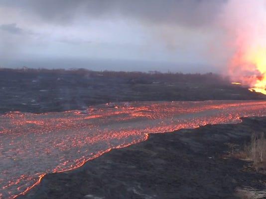 VIDEO THUMBNAIL - River of Lava