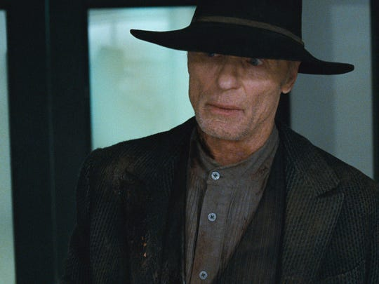 "William/The Man in Black (Ed Harris) on ""Westworld."""