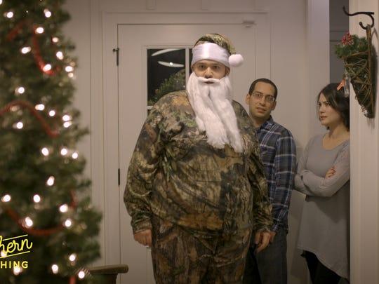 "Matt Mitchell plays a questionable Santa in ""T'was"