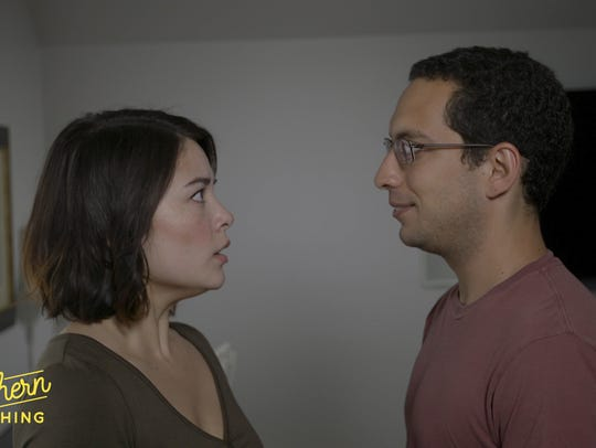 "Kevin (Adam Schwartz) and Diane (Talia Lin) in ""The"