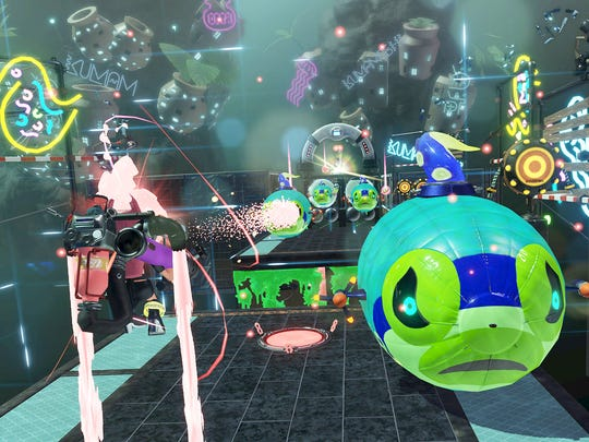 Splatoon 2's Octo Expansion DLC features 80 challenging levels for players.