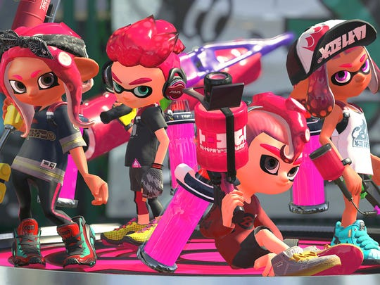 Octolings join the inklings in Splatoon 2's Octo Expansion DLC.