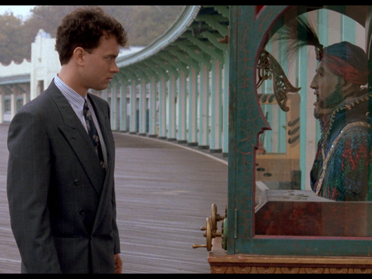 "After making a wish, a young boy becomes a man (Tom Hanks) in Manhattan at a toy company is the 30th anniversary of ""Big"" (1988) at 2 and 7 p.m. Sunday at Governor's Square. There's an encore screening of the poignant comedy at 2 and 7 p.m. Wednesday. You can argue all you want, but this is the movie that made him a star at the box office. He is perfectly cast. It's rated PG. Visit www.fandango.com."
