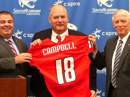 Campbell led FCS Central Arkansas to back-to-back 20 wins seasons, second round playoff appearances and the 2017 Southland Conference championship in his final two seasons. His resume includes national championships at the junior college and Division II levels.
