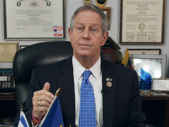 Sitting Rep. Joe Wilson (R-S.C.) also fell for Sacha Baron Cohen's fake Israeli arms instructor.
