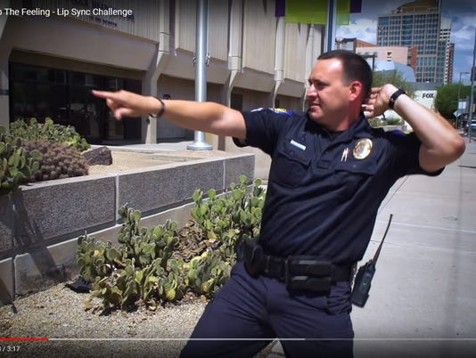phoenix police department in lip sync challenge