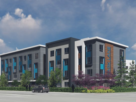 New renderings of Park Lane apartments after partnership