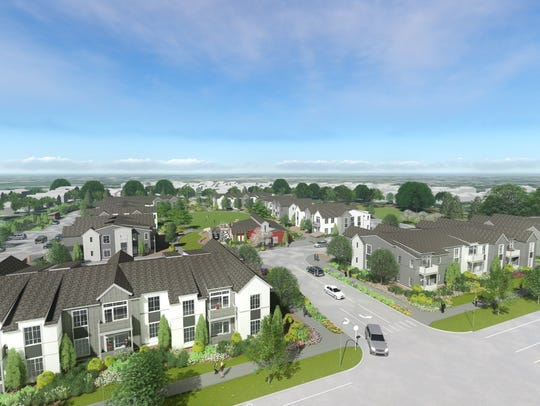 Village on Horsetooth is nearly complete and is pre-leasing