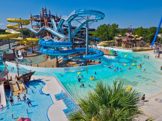 Kansas — Schlitterbahn Waterpark: $129.99 for a summer season pass. Take the family and relax at Schlitterbahn Waterpark, located in Kansas City. Turn up the excitement with a water coaster, such as the Storm Blaster, or just surf the waves on the Boogie Bahn surf ride.