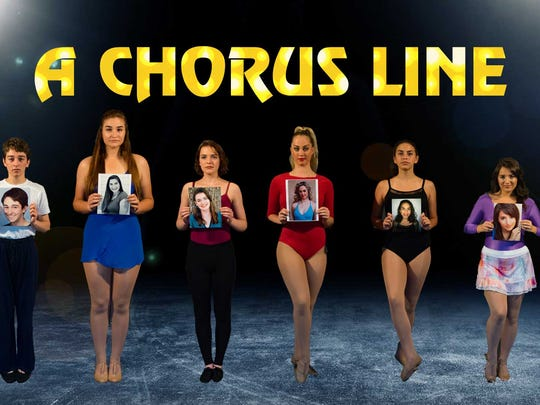 "Florida Rep's Education Conservatory's ""A Chorus Line"""