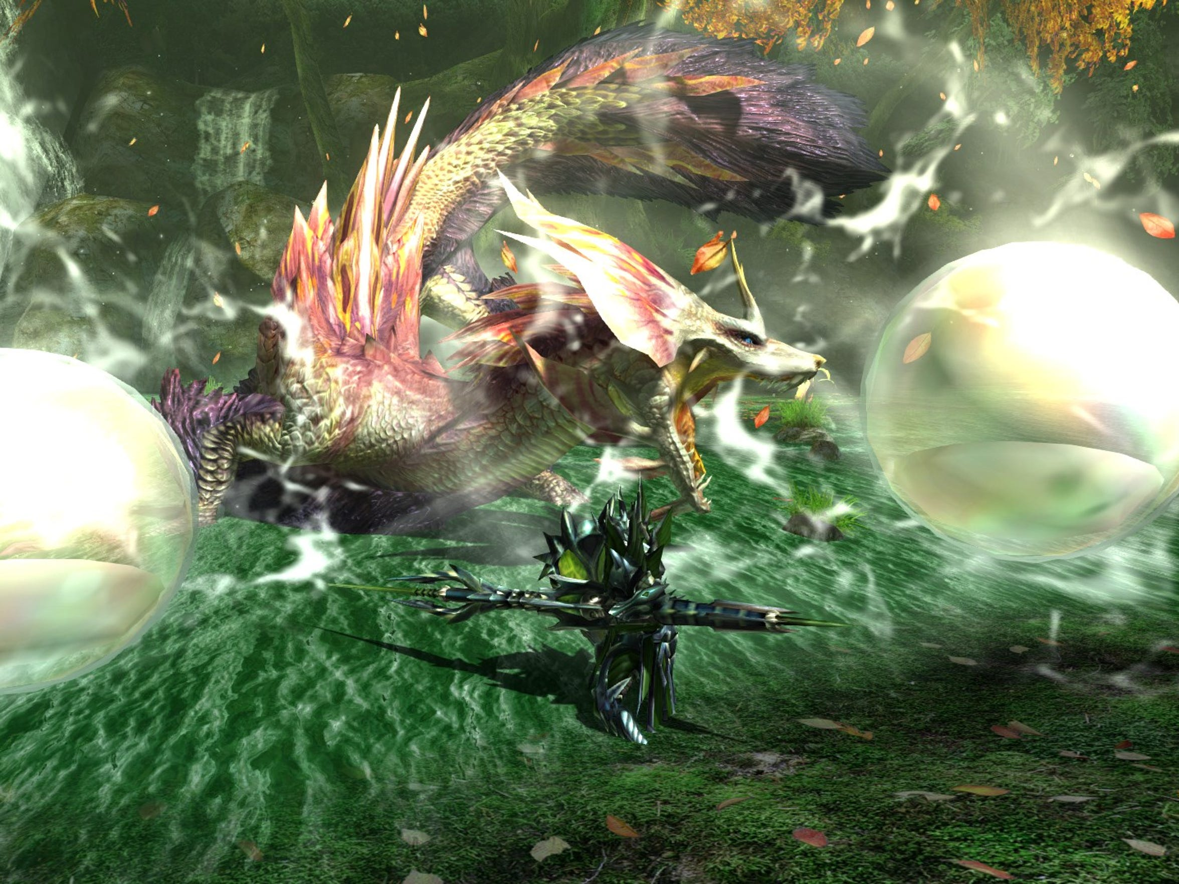 Mizutsune in Monster Hunter Generations Ultimate for Nintendo Switch.