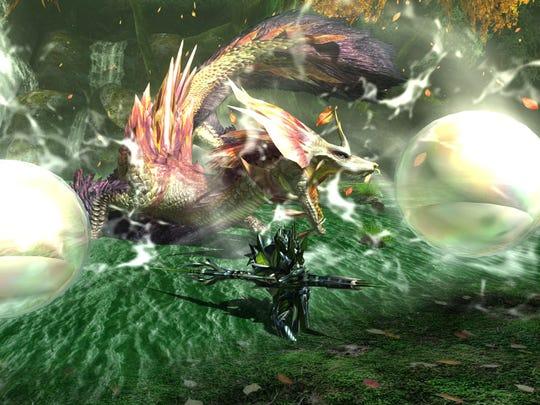 Mizutsune in Monster Hunter Generations Ultimate for Nintendo Switch.
