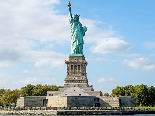 "Liberty Island was featured in the film ""Escape From New York."""