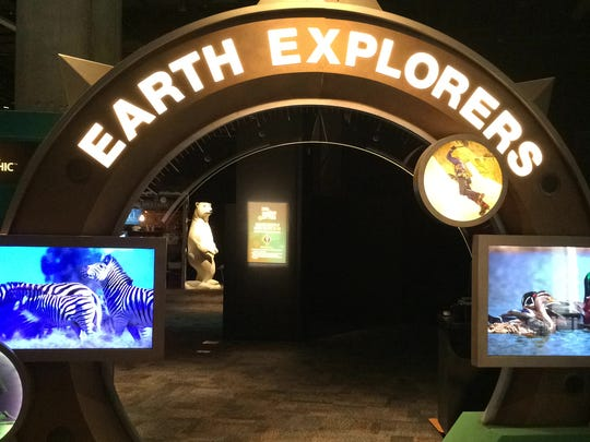 "National Geographic's ""Earth Explorers"" exhibit, seen here at Arizona Science Center, will be coming to the new Graceland Exhibition Center."