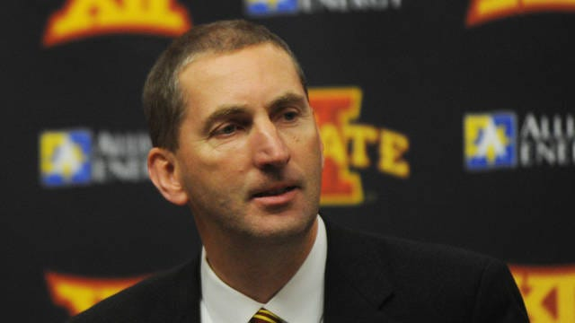 Iowa State athletic director Jamie Pollard released a statement Wednesday, announcing a part time student worker tested positive for COVID-19, and four student athletes are currently showing symptoms for the virus. Photo by Nirmalendu Majumdar/Ames Tribune