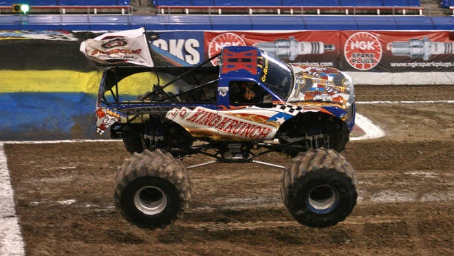 King Krunch is one of the monster trucks featured at the Sublimity Harvest Festival Sept. 11-13 in Sublimity