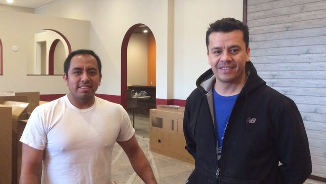 Sergio Guerrero and Alex Torres, owners of Cozumel Mexican Restaurant, 2065 Wtizel Ave., have overhauled the storefront and are nearing opening day.