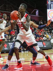 Rutgers' Issa Thiam in action Nov. 5.
