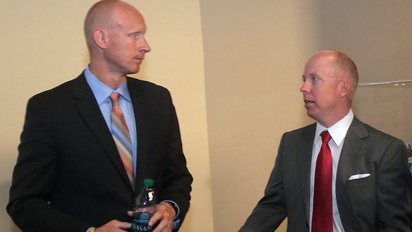 Chris Mack, Mick Cronin