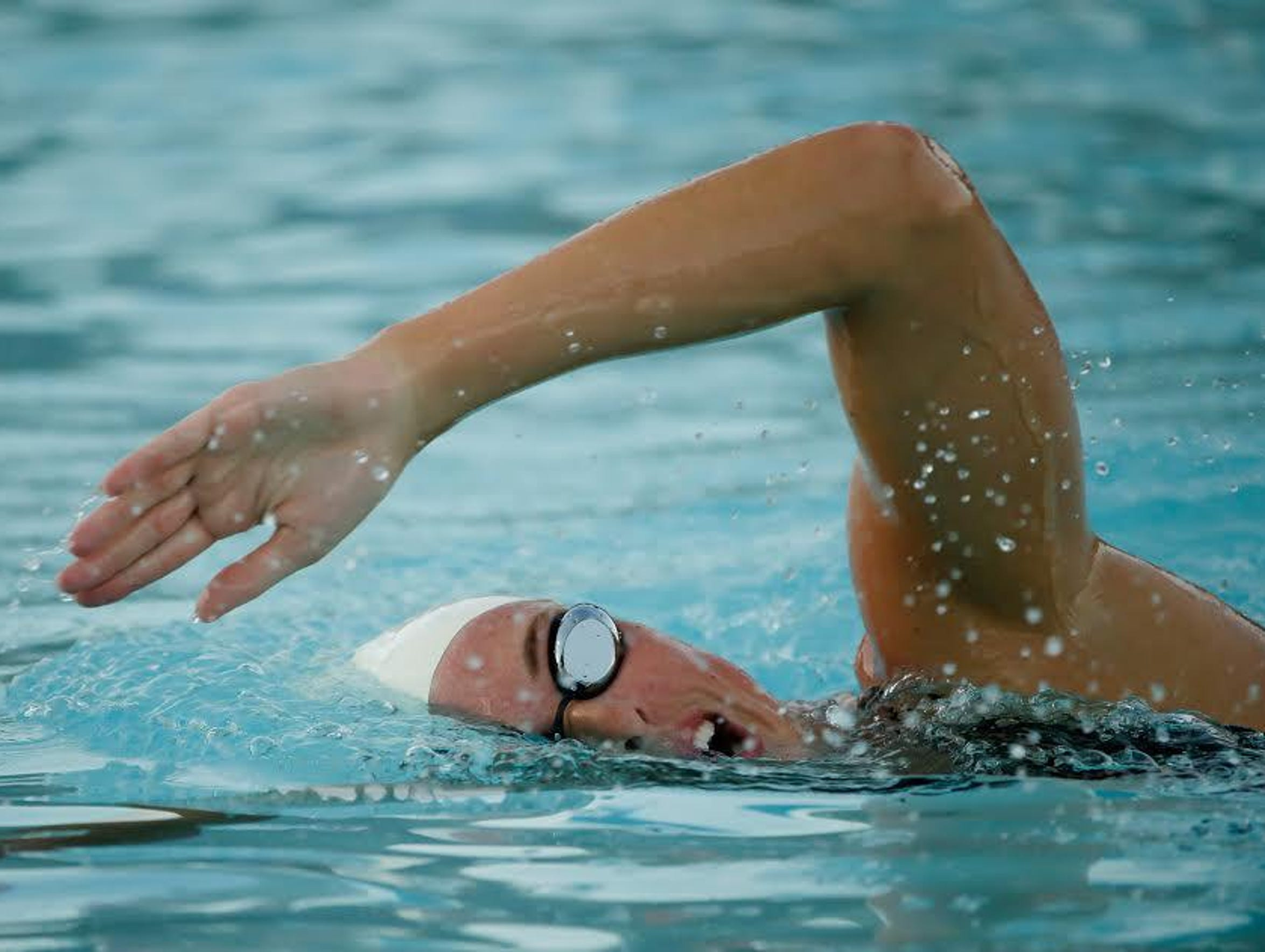 Allison Schmitt of Canton will swim in two relays at