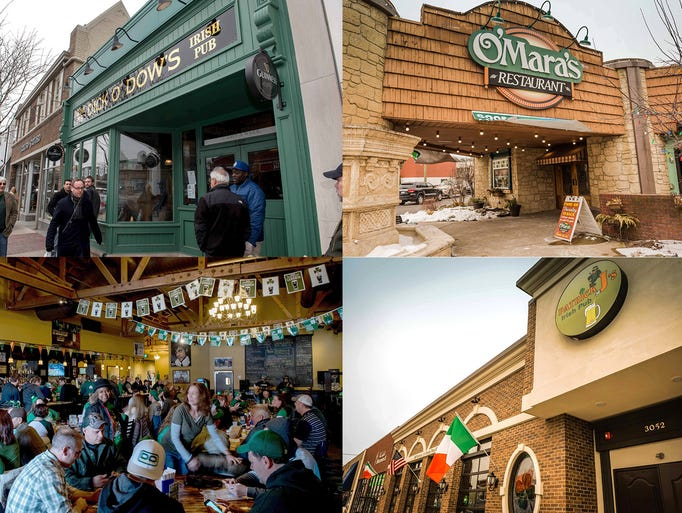 St. Patrick's Day celebrations at Dick O' Dow's in
