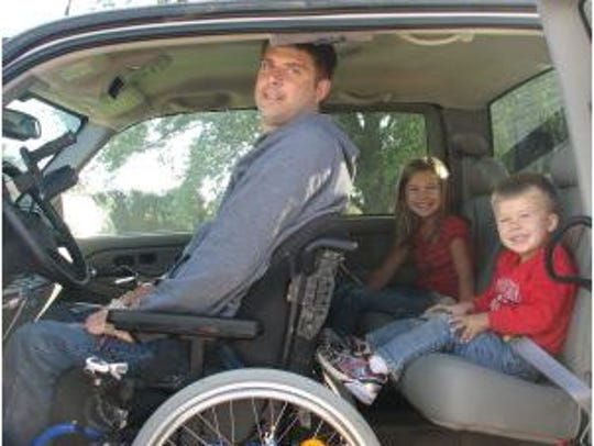 Quadriplegia wasn't able to keep third generation farmer
