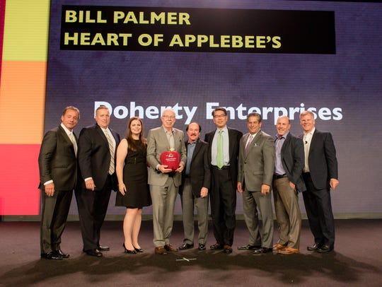 Applebee's Neighborhood Grill + Bar recently honored