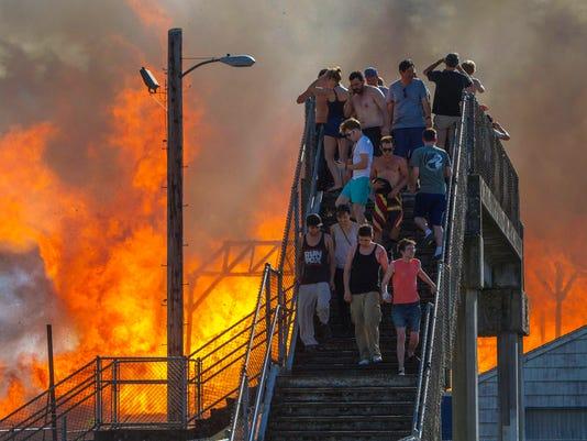 AP10ThingsToSee Eugene Stadium Fire