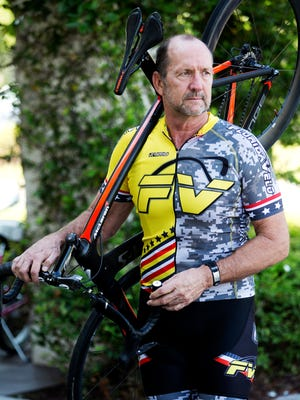 Naples resident Chuck Kelly was seriously injured  in a bicycle vs. vehicle accident during a group ride in Naples.