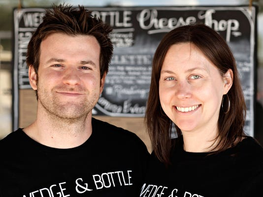 Troy and Krista Daily of Wedge & Bottle