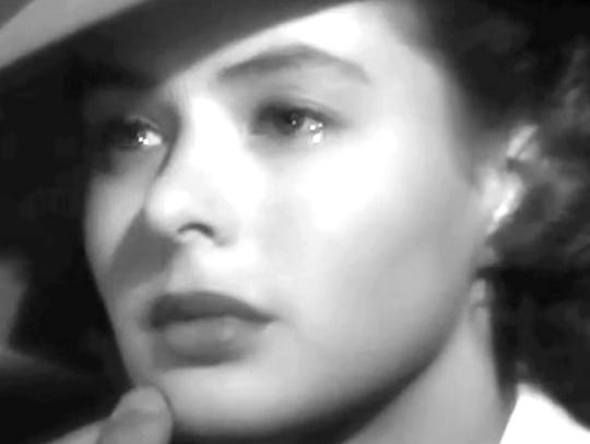 Ingrid Bergman plays Ilsa Lund, a woman torn between