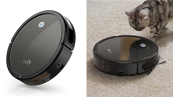 At this sale price, this robot vacuum delivers plenty