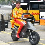 IndyCar at Mid-Ohio: Ryan Hunter-Reay paces practice for first time this season