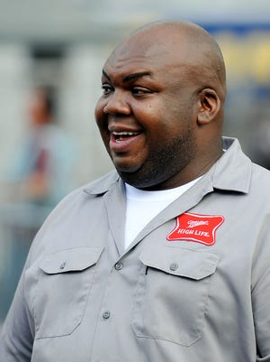"Actor Windell Middlebrooks, better known as the ""Miller High Life Guy."""