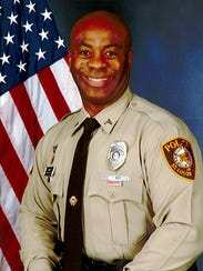 St. Louis County Police Recruitment Officer Kevin Minor.