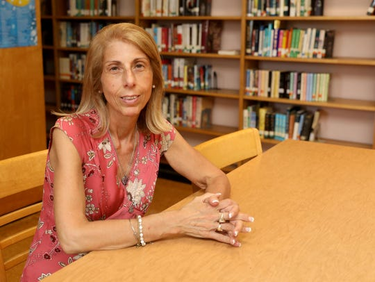 Theresa Napoli, the principal at St. Barnabas High