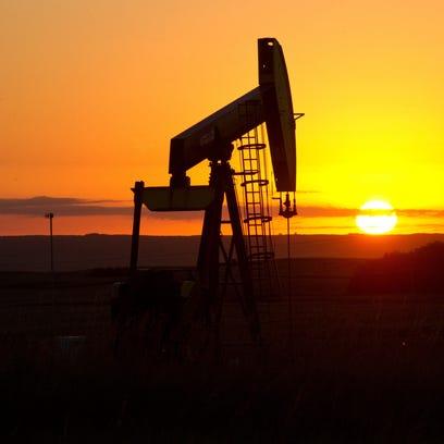 This file photo shows an oil well. The OPEC oil producers