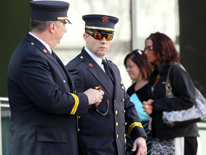 Firefighters, first responders and the public from