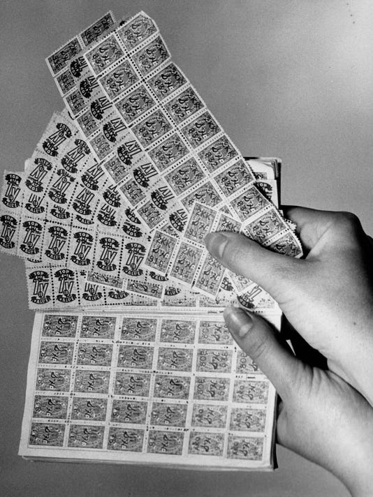 Trading stamps 002