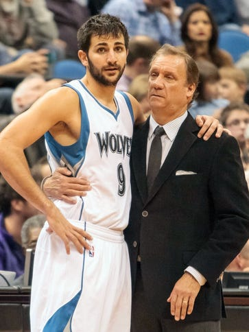 Flip Saunders, Ricky Rubio and the T'wolves were an