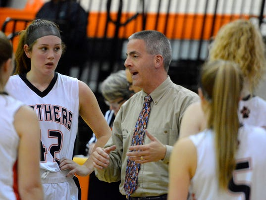 Reading at Central York girls' basketball