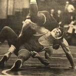Jeff Callard, who won individual state wrestling titles at both Sexton and East Lansing, will be inducted into the Greater Lansing Sports Hall of Fame on July 28.