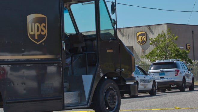 A UPS worker was caught on camera throwing packages and urinating on a home Jan. 8, 2015, in Houston.