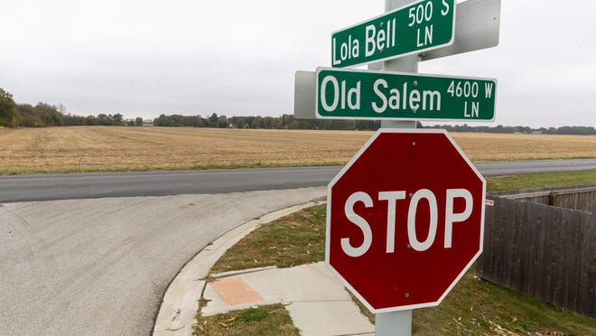 A new proposed subdivision, Sloan Crossing, is planned for the current farmland south of Old Salem Lane and the current Salem Estates subdivision.