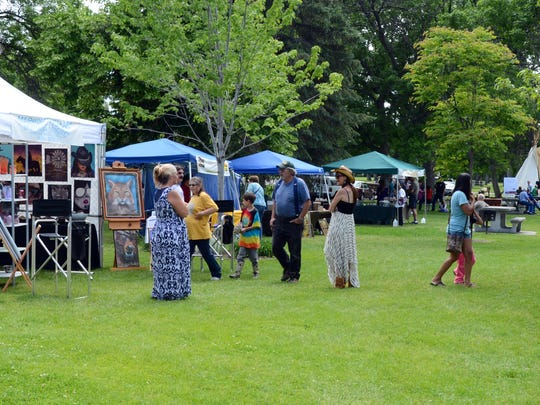 The Lewis and Clark Festival includes fine arts vendors, live music, presentations and more.