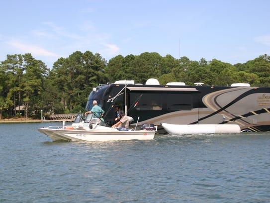 The Terra Wind amphibious recreational vehicle, made