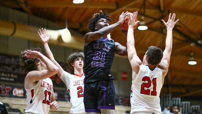 Cedar Ridge's Marcel Bryant, a junior small forward, scored 18 points and had five rebounds against LBJ and tallied 17 points and seven rebounds against Rouse as the Raiders went 2-0 on the week.