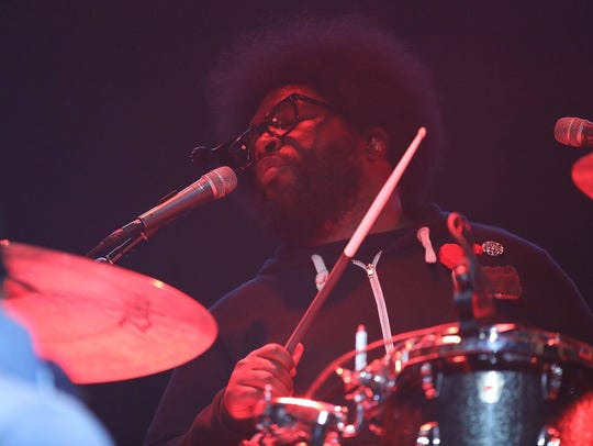 The Roots perform on Day 2 of the Lost Lake Festival